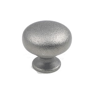 "Rusticware 1 1/4"" Cabinet Knob - Distressed Pewter"