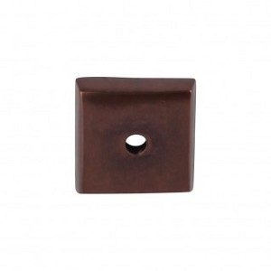 Top Knobs Aspen Square Backplate - Mahogany Bronze