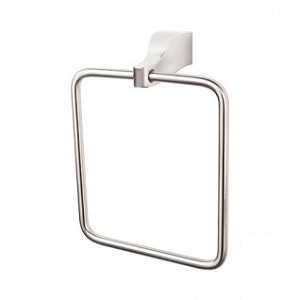 Top Knobs AQ5BSN Aqua Towel Ring - Brushed Satin Nickel