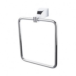 Top Knobs AQ5PC Aqua Towel Ring - Polished Chrome