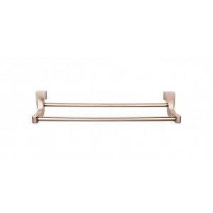 Top Knobs AQ7BB Aqua 18 inch Double Towel Bar - Brushed Bronze