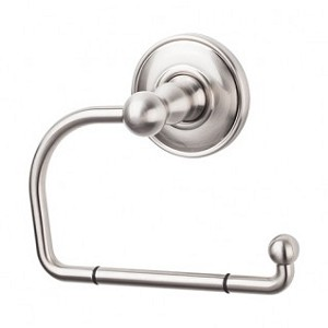 Top Knobs ED4BSNC Edwardian Oval Tissue Hook - Brushed Satin Nickel