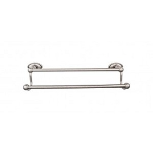 Top Knobs ED9APC Edwardian 24 inch Double Towel Bar - Antique Pewter