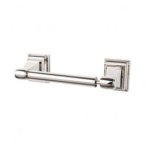 Top Knobs STK3PN Stratton Tissue Holder - Polished Nickel