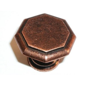 "Top Knobs Devon Knob 1 1/4""  In Rust"