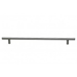 Top Knobs Bar Pull Collection M433A Hopewell Bar Pull 15 Inch (C-C)-Brushed Satin Nickel