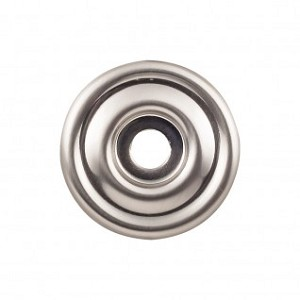 Top Knobs TK890BSN Brixton 1 3/8 inch Backplate - Brushed Satin Nickel