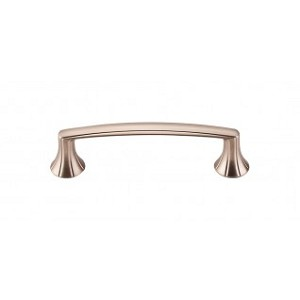 Top Knobs M1638 Rue Pull 3 3/4 Inch (C-C)- Brushed Bronze Finish