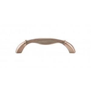 Top Knobs M1641 Straight Pull 3 3/4 Inch (C-C) - Brushed Bronze