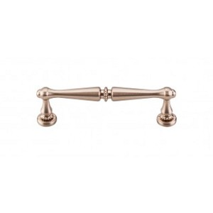 Top Knobs M1857 Edwardian Pull 3 3/4 Inch (C-C)-Brushed Bronze