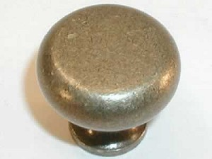 "Top Knobs Somerset Flat Faced 1 1/4"" Cabinet Knob - German Bronze"