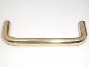 Top Knobs Somerset 3 Inch CC Wire Pull - Polished Brass