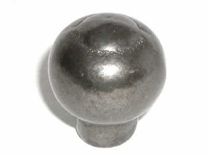"Top Knobs Chateau Pommel 1"" Knob - Pewter"