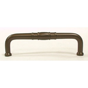 Top Knobs 3 3/4 Inches CC Appliance Handle - Oil Rubbed Bronze