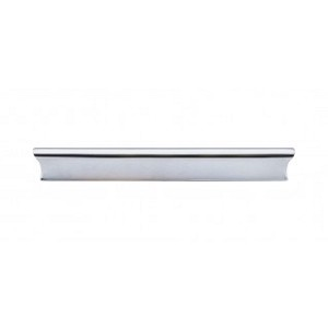 Top Knobs TK555PC Glacier Pull 6 Inch Cabinet Pulls -Polished Chrome