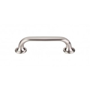 Top Knobs TK593BSN Oculus Oval Pull 3 3/4 Inch Cabinet Pulls -Brushed Satin Nickel