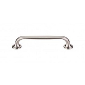 Top Knobs TK594BSN Oculus Oval Pull 5 1/16 Inch Cabinet Pulls -Brushed Satin Nickel