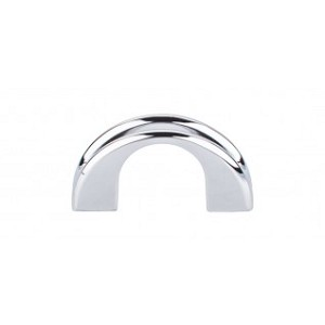 Top Knobs Mercer Tango 1 1/4 Inch CC Cabinet Pulls - Polished Chrome