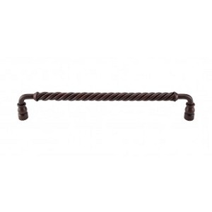 Top Knobs M675 Twisted Bar Pull 12 Inch (C-C)-Patina Rouge