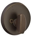 Emtek Sandcast Bronze #2 Style Deadbolt - Single Sided