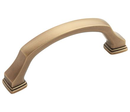 Amerock Revitalize 3 Inch CC Cabinet Pull - Gilded Bronze