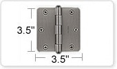 3.5 Inch Hinges