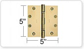 5 Inch Hinges