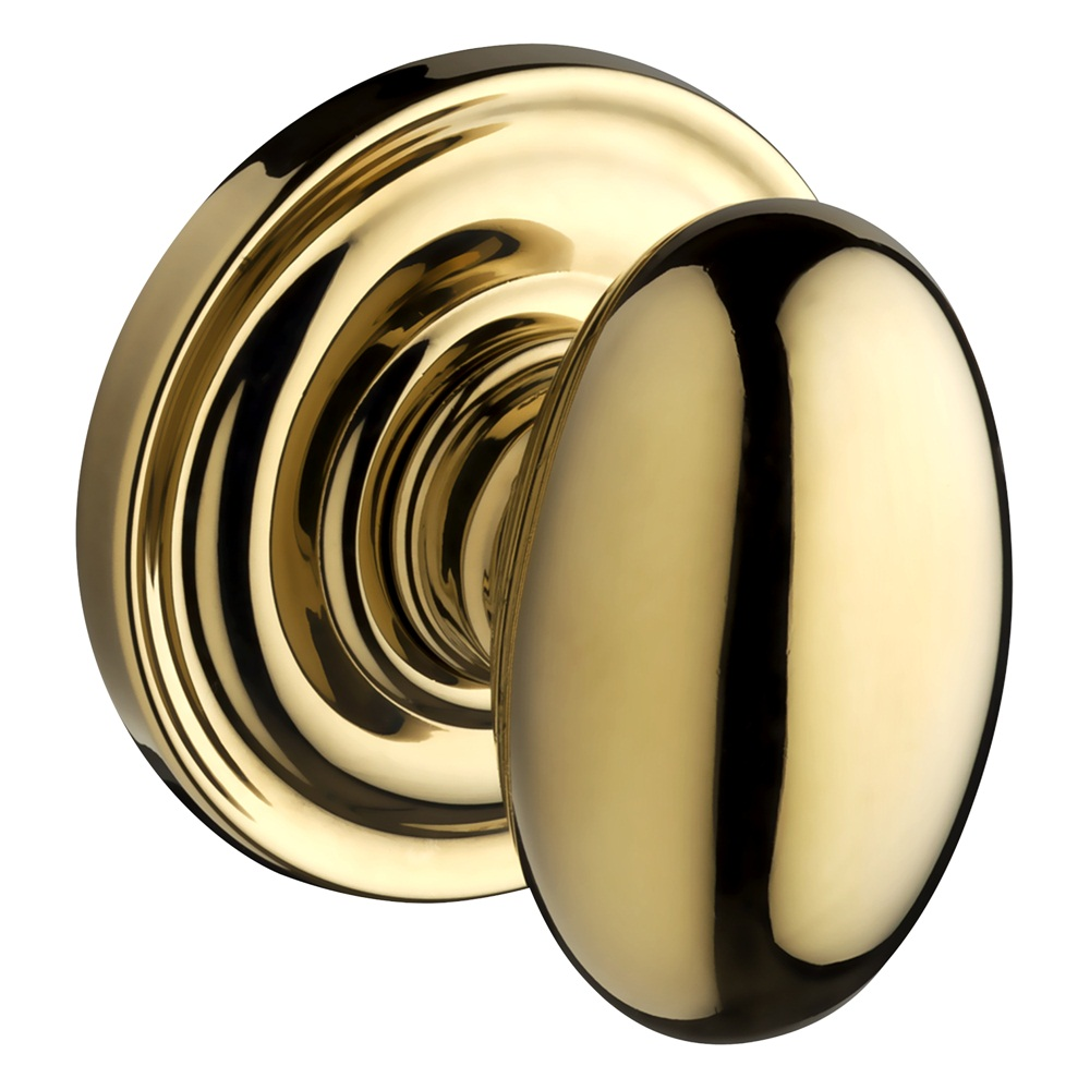 Baldwin Reserve Ellipse Knob Lifetime Polished Brass