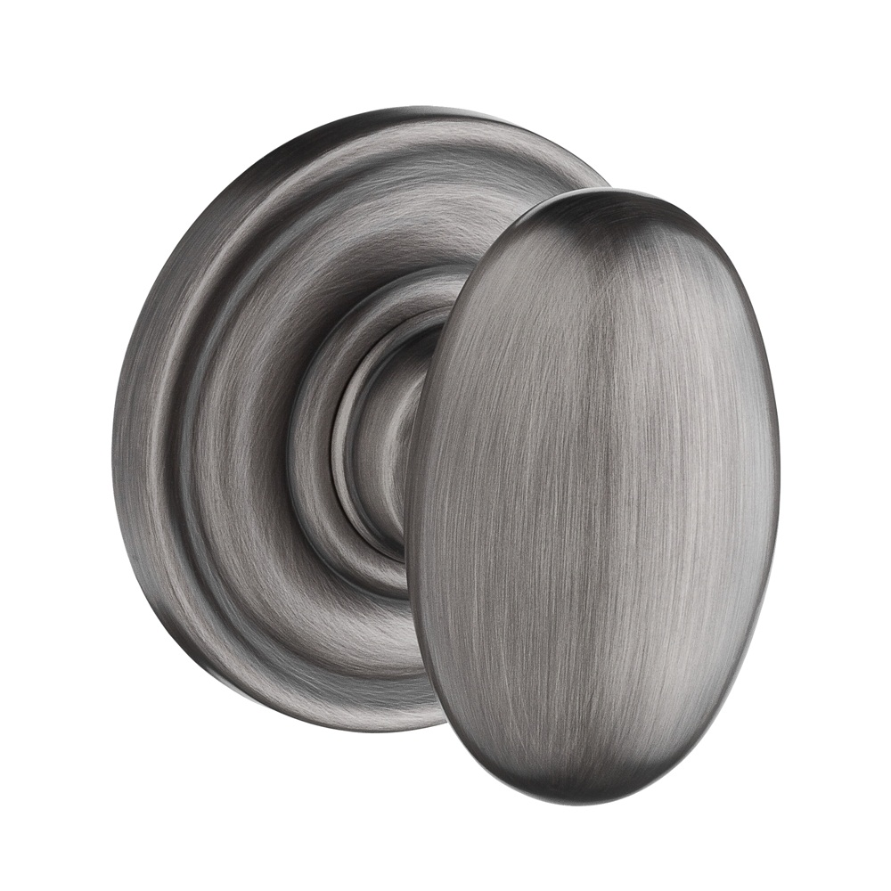 Baldwin Reserve Ellipse Knob Matte Antique Nickel
