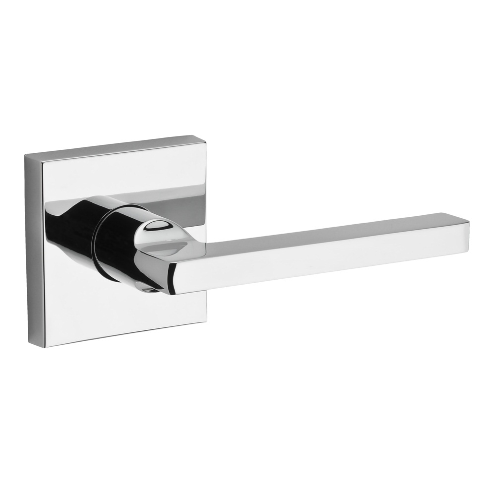 Baldwin Reserve Square Lever Polished Chrome