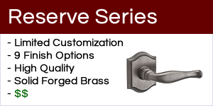 Baldwin Reserve Series Door Hardware