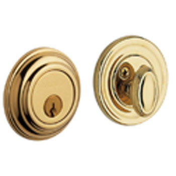 003 Classic Knob with Polished Brass with Lifetime Finish