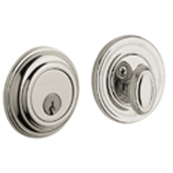 055 Classic Knob with Polished Nickel Lifetime Finish