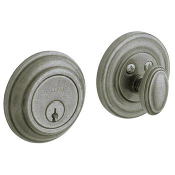 baldwin images classic knob distressed antique nickel
