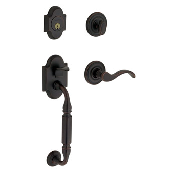 Baldwin Contemporary Knob with 190 Satin Black. A versitile finish featuring a deep solid matte black over sanded brass that brings a sense of history to country looks and a sense of drama to more contemporary designs.