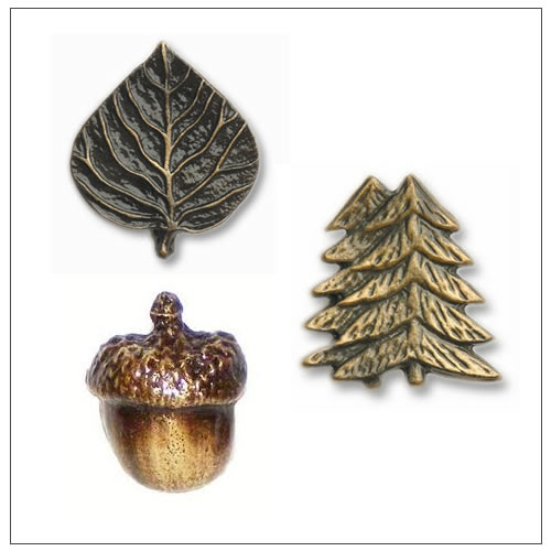 Leaves & Trees Cabinet Knobs and Pulls