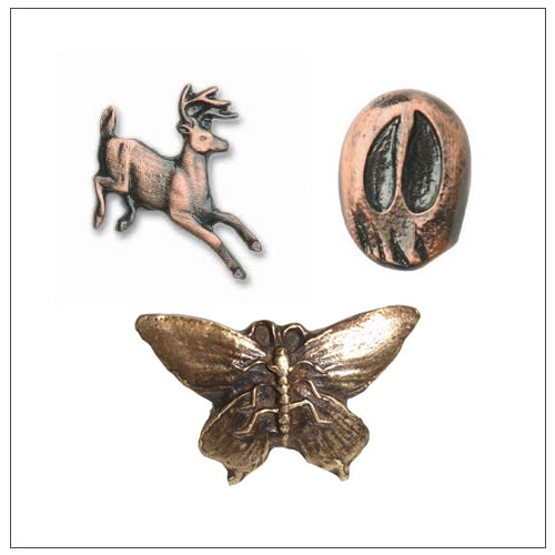 Wildlife Cabinet Knobs and Pulls