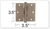 3.5 Inch Ball Bearing Door Hinges