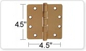 4.5 Inch Ball Bearing Door Hinges