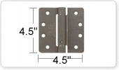 4.5 Inch Spring Door Hinges