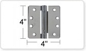 4 Inch Spring Door Hinges
