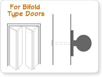 Bifold Door Pulls Are Smaller Diameter Knobs That Mount On Each Bifold Door  To Make Them Easier To Open. Bi Fold Door Knobs Do Not Have Any Kind Of  Latch ...