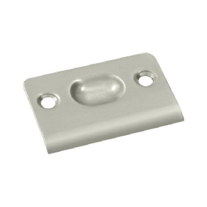 Oil Rubbed Bronze Brass Ball Latch Catch Strike plate with screws SPB349U10B