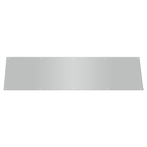 Deltana Stainless Steel  10 x 34 Inch Kick Plate