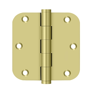 Deltana 3 1/2 x 3 1/2 Inch Solid Brass 5/8