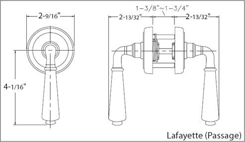 Lafayette Lever Specs