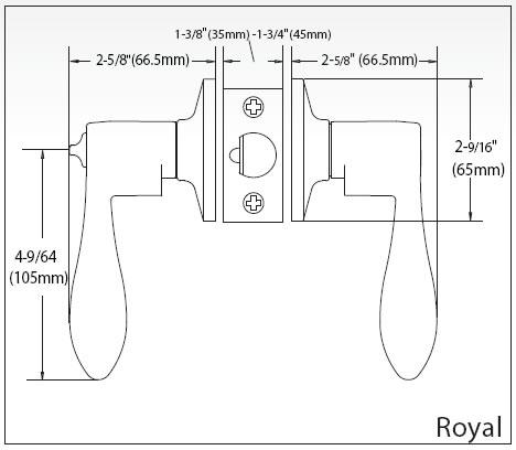 Royal Lever Specs