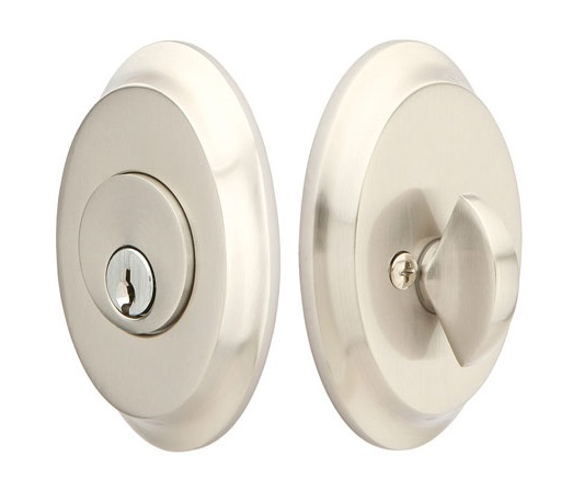 Emtek Saratoga Style Single Cylinder Deadbolt