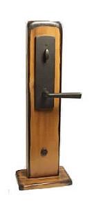 Emtek Door Hardware Emtek Rockford Mortise Entry Handleset