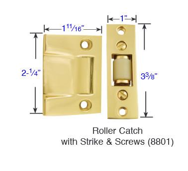 Emtek 8801 Roller Catch
